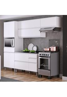 Cozinha Compacta Itatiaia Belíssima Plus 3 Peças 7 Portas Branco