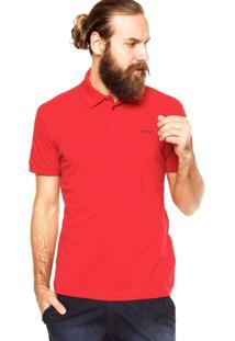 Camisa Polo Sommer Slim Vermelha