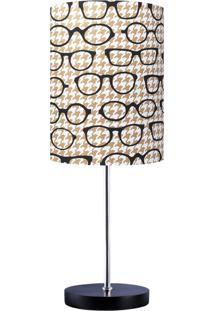 Abajur Carambola Glasses Bege - Bege - Dafiti