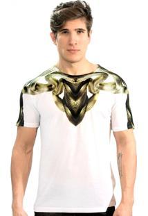 Camiseta Klauk Cobra Dourado