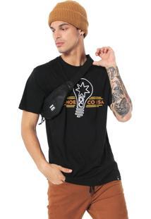 Camiseta Dc Shoes Lights Preta