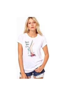 Camiseta Coolest Bbidi Blood Shoes Branco