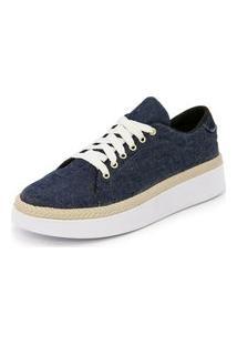 Sapatênis Tênis Casual Ec Shoes Azul