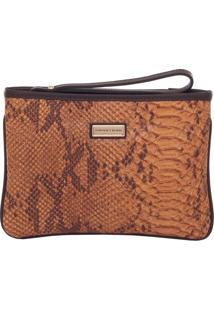 Mini Bolsa Smartbag Phyton Camel/Café - 78016