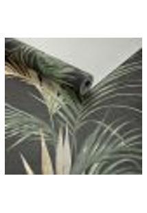 Papel De Parede Importado Vinilico Tropical Folhas Palmeira