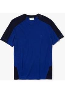Camiseta Lacoste Masculina - Masculino-Azul Navy