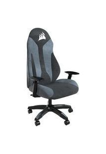 Cadeira Gamer Corsair Tc60 Fabric, 124Kg, Braço 3D Preto/Cinza - Cf-9010035-Ww