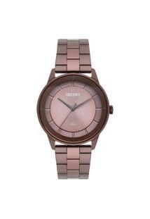 Relógio Orient Feminino Unique Analógico Marrom Fmss0002-N1Nx