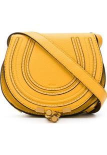 Chloé Bolsa Transversal Marcie Mini - Amarelo