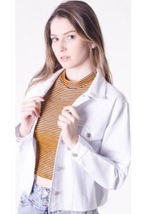 Jaqueta Branca Reciclada