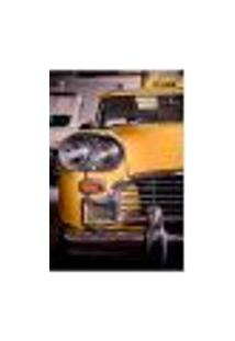 Painel Adesivo De Parede - Nova York - Táxi - 1462Pnp