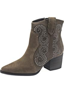 Ankle Boot Nicola Mezi Country Taupe