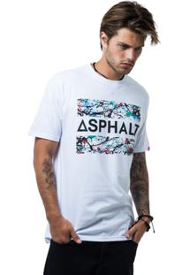 Camiseta Asphalt Sprayed Masculina - Masculino