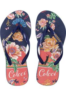 dcefd116e Chinelo Colcci Floral feminino   Shoelover