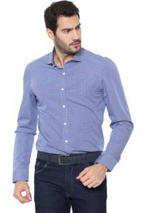 Camisa Richards Reta Premium Collor Azul