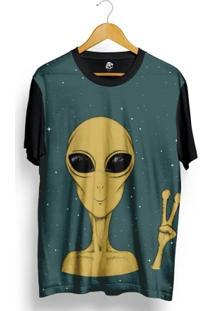 Camiseta Bsc Happy Alien Full Print - Masculino