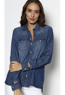 ea161824b2 R$ 191,99. Privalia Camisa Jeans Estonada ...