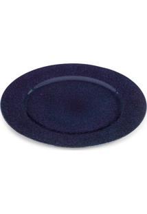 Sousplat Ø33Cm Avulso Azul Marinho - Hauskraft