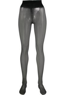 Wolford Meia-Calça Individual 10 - Preto