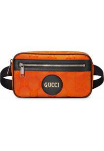 Gucci Pochete Off The Grid Gg - Laranja