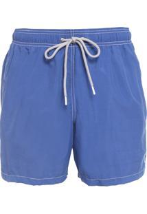 Short Masculino Liso - Azul