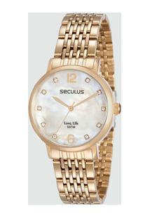 Relógio Feminino Seculus 28814Lpsvga2