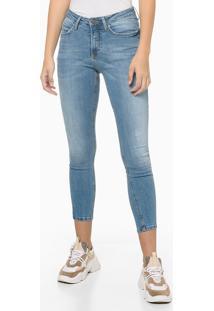 Calça Jeans Five Pockets Super Skinny - Azul Claro - 36