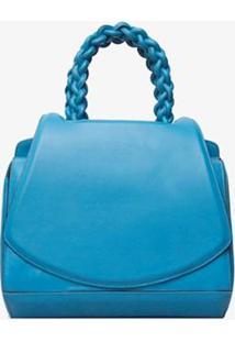 Mini Bolsa Paseo Soleah Feminina - Feminino-Azul