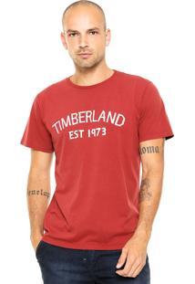 Camiseta Timberland Rosewod Laranja
