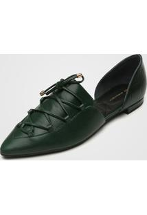 Sapatilha Jorge Bischoff Lace Up Verde