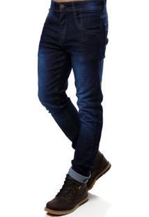 Calça Jeans Masculina Vels Azul