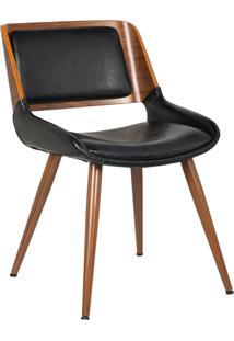 Cadeira Sueli Preta Rivatti Móveis