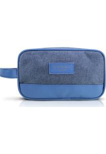 Necessaire Com Alça Lateral Jacki Design Be You Azul