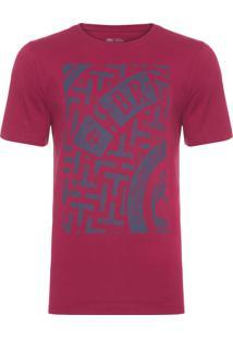 Camiseta Masculina Culvert - Vermelho