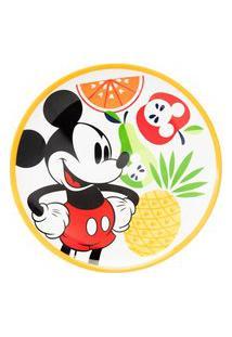 Prato Sobremesa Mickey Fruit 20 Cm - Home Style