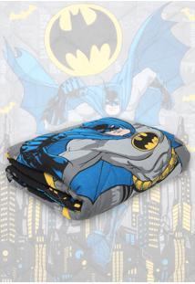 Edredom Solteiro Lepper Batman Azul