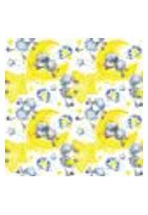 Papel De Parede Adesivo Infantil Ovelhas Na Lua 2,70X0,57M