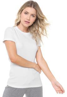 Camiseta Liz Easywear Canelada Off-White