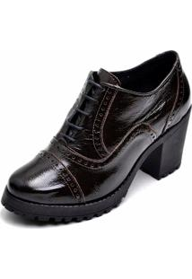 Sapato Salto Alto Dr Shoes Marrom