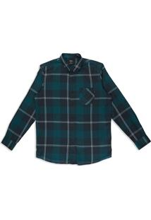 Camisa Ls Shred Woven Oakley