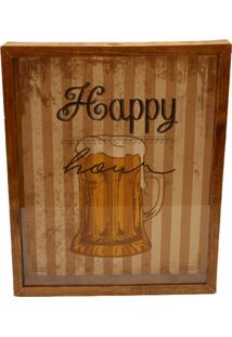 Quadro Porta Tampinhas E Lacres Prolab Happy Hour Tabaco