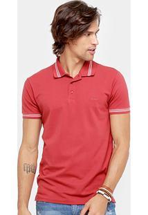 Camisa Polo Colcci Piquet Frisos Color Masculino - Masculino