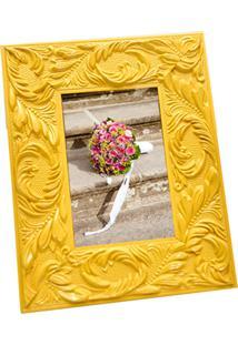 Porta-Retrato Prolab Gift Retrô Amarelo