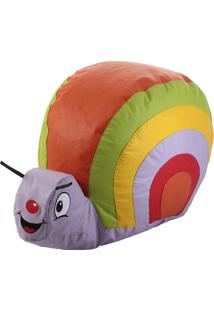 Puff Caracol Infantil - Stay Puff - Colorido