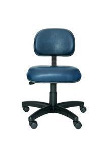 Cadeira Ergonômica Secretária Prolabore. Linha Bits. Giratória. Mecanismo V/H. Sem Braços. Rodízios. Sintético Prolabore Produtos Ergonômicos