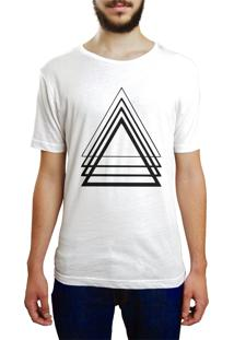 Camiseta Hunter Triangulo Branca