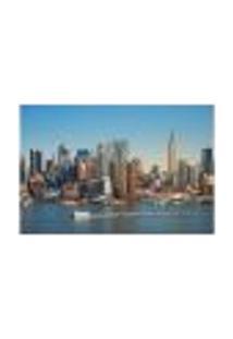 Painel Adesivo De Parede - Nova Iorque - Cidade - 741Pnm