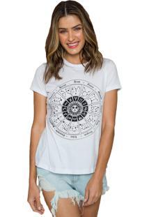 T-Shirt Sislla Astral Branca