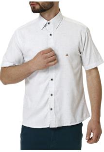 Camisa Manga Curta Urban City Branco