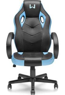 Cadeira Gamer Azul Warrior - Ga161 - Padrão